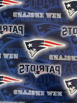 New England Patriots Fabric 1/2 Yard X 44 Inches Cotton