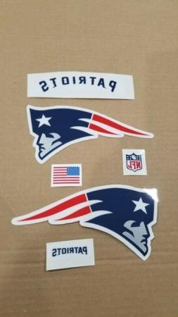 New England Patriots Football Helmet Decals Full Size  20 Mi