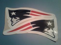 New England Patriots football helmet decals set