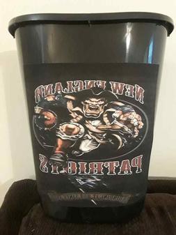 New England Patriots Football NFL Trashcan trash can kitchen