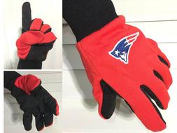 New England Patriots Gloves NFL Sport Utility Officially Lic