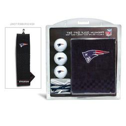 New England Patriots Golf Gift Set with Embroidered Towel