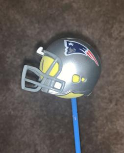 New England Patriots Riddell Helmet Antenna Topper New Smile