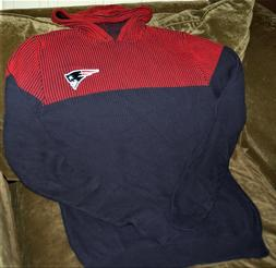 New England Patriots hoodie sweater MEN's large NEW w tags N