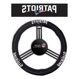 New England Patriots Leather Steering Wheel Cover  NFL Car A