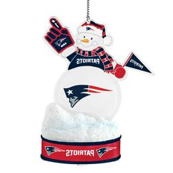New England Patriots Led Lit  Ornament Team Snowman Sports C