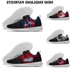 NEW ENGLAND PATRIOTS Men's womens Lightweight Sneaker Shoes
