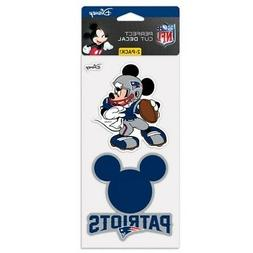 NEW ENGLAND PATRIOTS MICKEY MOUSE DISNEY 2 PIECE PERFECT CUT