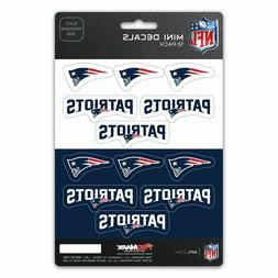 New England Patriots Mini Decals Stickers 12 Pack FAST USA S