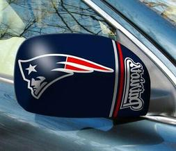 New England Patriots Mirror Cover 2 Pack - Small Size  NFL C