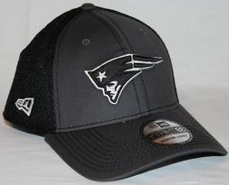 New England Patriots New Era NFL 39THIRTY Gray & Black Neo F