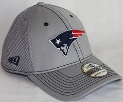 New England Patriots New Era NFL 39THIRTY Gray Neo Flex Fit