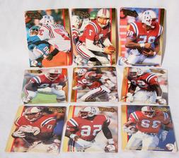 NEW ENGLAND PATRIOTS NFL ACTION PACKED - Football Cards - Lo