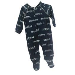 New England Patriots NFL Apparel Baby Infant Size Pajama Sle