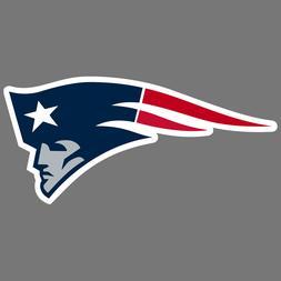 New England Patriots NFL Car Truck Window Decal Sticker Foot