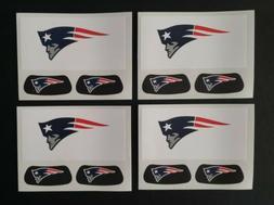 New England Patriots NFL Eye Black.  4 sheets