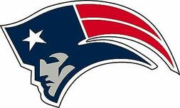 New England Patriots NFL Football bumper sticker wall decor