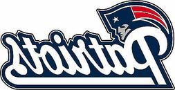 new england patriots nfl football bumper sticker