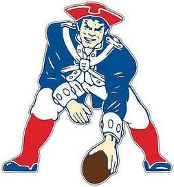 New England Patriots NFL Football Car Bumper Locker Notebook