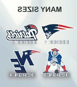 New England Patriots NFL Football Sticker Vinyl Decal Huntin