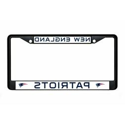 new england patriots nfl football team black anodized licens