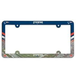 NEW ENGLAND PATRIOTS ~ NFL License Plate Frame Cover Holder