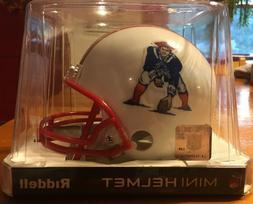 New England Patriots NFL Riddell Mini Throwback Helmet