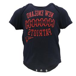 New England Patriots NFL Official Apparel Infant Baby Creepe