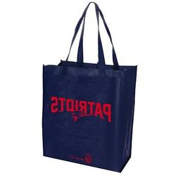 New England Patriots NFL Printed Reusable Grocery Tote Bag F