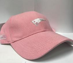 New England Patriots NFL Reebok Pink Adjustable Relaxed Hat