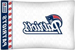 New England Patriots NFL Standard Logo Pillowcase