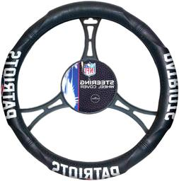 NEW ENGLAND PATRIOTS NFL Synthetic Leather Steering Wheel Co