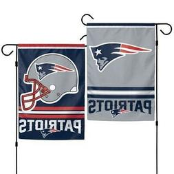 NEW ENGLAND PATRIOTS ~ Official NFL 2-Sided 12.5 x 18 Garden