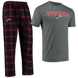 New England Patriots Pajamas Troupe Shirt And Pants Sleepwea