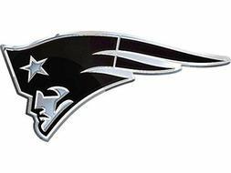 New England Patriots Plastic Chrome 3D Emblem Automotive Car