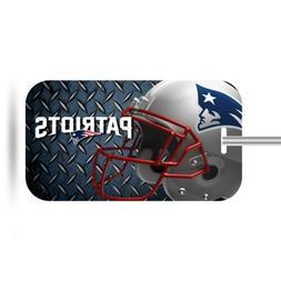 New England Patriots Plastic Luggage Tag Bag Identification