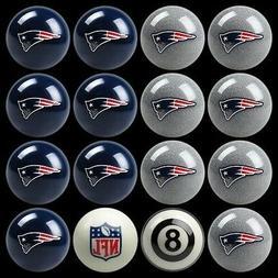 NFL New England Patriots Pool Ball Billiards Balls Set w/ FR
