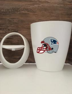New England Patriots  Small 9L 2.4 Gallon Wastebasket Man Ca