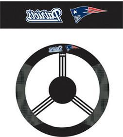 New England Patriots Steering Wheel Cover NFL Football Team