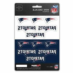 New England Patriots Stickers Die Cut Mini Decals 12-Pack St