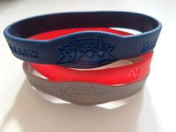 New England Patriots Super Bowl 39 Champions 3 Pk Rubber Bra
