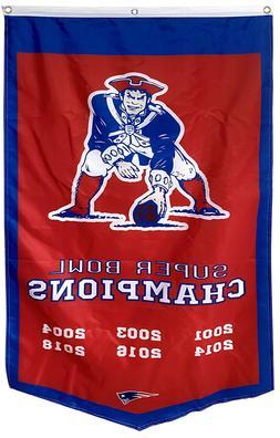 "New England Patriots Super Bowl Champions Banner Flag30""x50"""