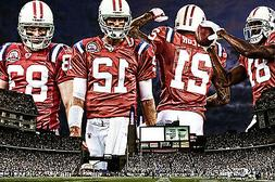 New England Patriots Team 2014 24x36 High Glossy Poster Home