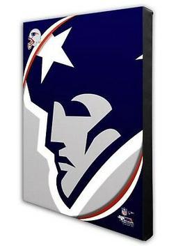Photo File New England Patriots Team Logo Canvas Print Pictu