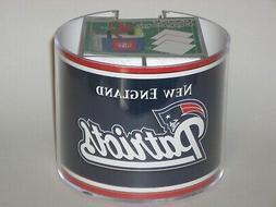 New England Patriots Team Logo Desk Caddy with 750 Sheet Not