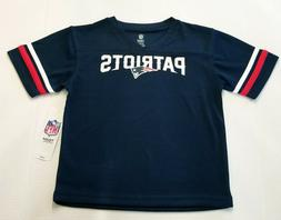 New England Patriots NFL Toddler Boys Team Logo Navy Shirts