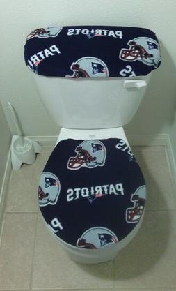 NEW ENGLAND PATRIOTS Toilet Seat Cover Set