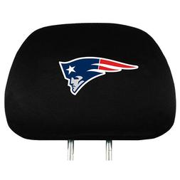 NEW ENGLAND PATRIOTS TWO PACK HEAD REST COVERS NEW & OFFICIA