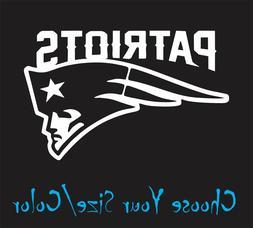 New England Patriots Football Vinyl Decal Sticker for NFL Ca