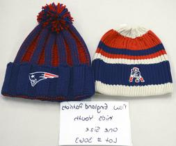 New England Patriots Youth Sample Knit Hat Lot Size OSFM